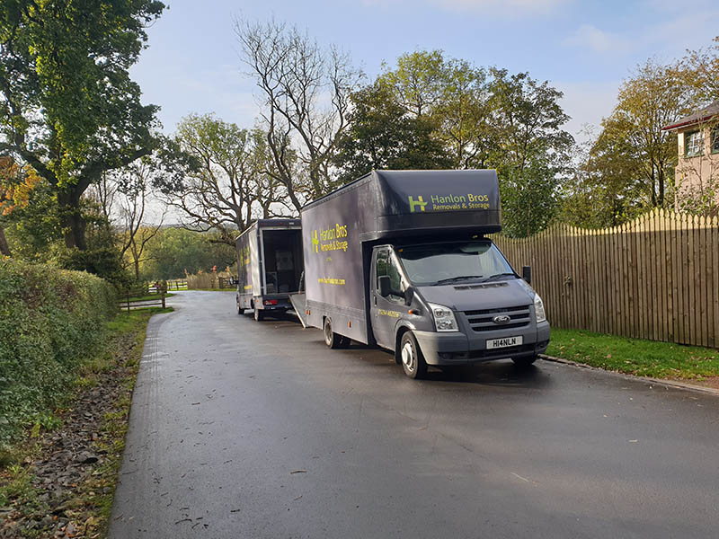 Hanlon Bros Removals Vans Ready For A New Removal