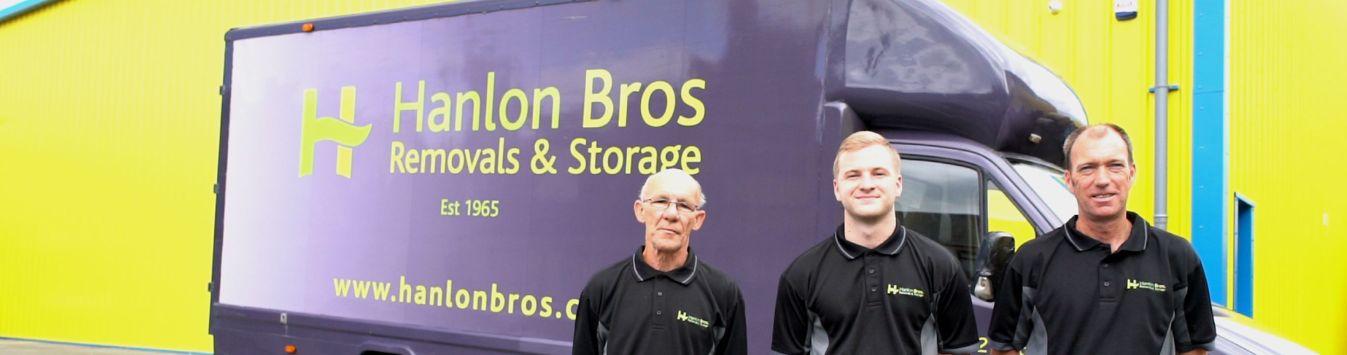 Contact Hanlon Brothers Removals and Storage Ayrshire